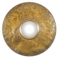 Nedonas Oxidized Gold Mirror