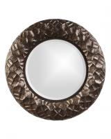 Chuck Round Antique Copper with Bronze Mirror