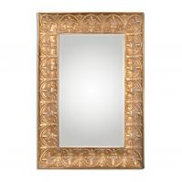 Santeramo Oversized Gold Rectangular Mirror