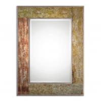 Romy Rust Rectangular Mirror