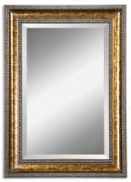 Sinatra Vanity Gold Leaf Undercoat Rectangular Mirror
