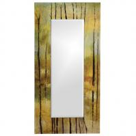Delilah Rectangular Multi-Color Mirror