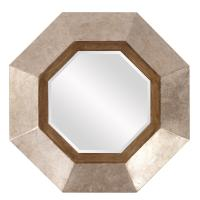 Octavio Unique Champagne Octagon Mirror