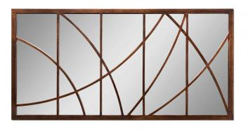 Loudon Distressed Bronze Rectangular Mirror