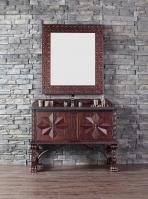 48 Inch Single Sink Bathroom Vanity in Antique Walnut