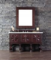 60 Inch Single Sink Bathroom Vanity with Soft Close Hinges