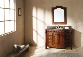 48 Inch Single Sink Bathroom Vanity with Dovetailed Drawers