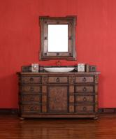 60 Inch Single Sink Bathroom Vanity with Multiple Top Choices