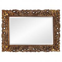 Howard Elliott Barcelona Mirror with Antique Gold Leaf