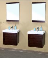 Bellaterra Home 49 Inch Double Sink Bathroom Vanity