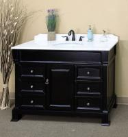 Bellaterra Home 60 Inch Single Sink Bathroom Vanity