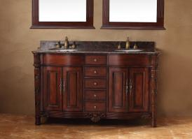 60 Inch Double Sink Bathroom Vanity with Pleny of Storage
