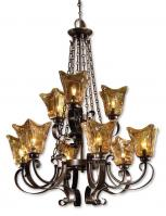 Vetraio 9 Light Oil Rubbed Bronze Chandelier