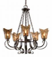 Vetraio 5 Light Oil Rubbed Bronze Chandelier