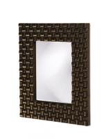 Justin Rectangular Bright Copper Mirror