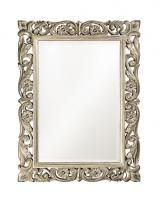 Chateau Mirror with Antique French Pewter Finish