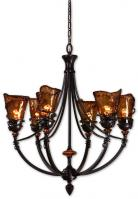 Vitalia 6 Light Oil Rubbed Bronze Chandelier