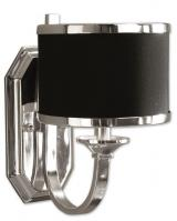 1 Light Wall Sconce in Silver