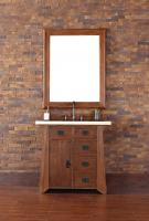 36 Inch Single Sink Bathroom Vanity in Antique Oak