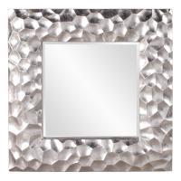 Marley Silver Leaf Square Mirror