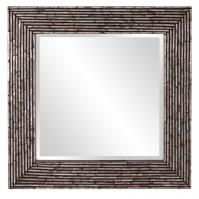 Orlando Mother of Pearl Shell Onlay Square Mirror
