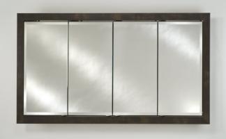 Signature Collection Custom Framed Four Door Medicine Cabinet