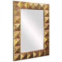 Dali Rustic Copper Rectangular Mirror