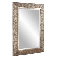 Elrond Silver Leaf Rectangular Mirror