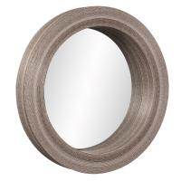 Pier Natural Bamboo Round Mirror