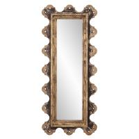 Blaine Aged Wood Rectangular Mirror
