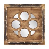 Graham Square Metallic Gold Mirror