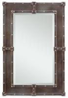 Lamare Copper Rectangular Mirror