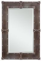 Cooper Classics Lamare Copper Rectangular Mirror