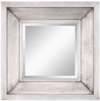 Garner Silver Square Mirror