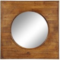 Thorton Natural Wood Square Mirror