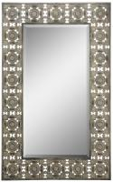 Ashville Distressed Bronze Rectangular Mirror