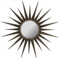 Remi Bronze Round Mirror