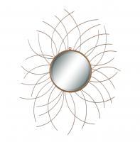 Beason Gold Round Mirror