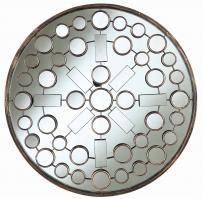 Cooper Classics Marbella Brushed Bronze Round Mirror