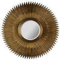 Cole Copper Round Mirror