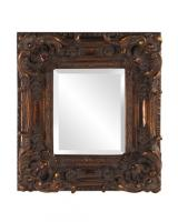 Brussels Mirror with Antique Bronze Finish