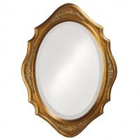 Trafalga MIrror with Virginia Gold Finish