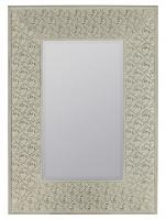 Ashley Cream with Highlights Rectangular Mirror