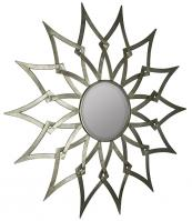 Ronnie Silver Sunburst Mirror