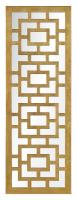 Eleanor Gold Leaf Rectangular Mirror