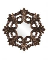 Annabelle Unique Deep Bronze Frame with Burnished Copper Highlights Mirror