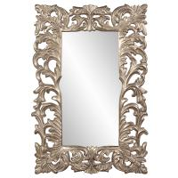 Augustus Antique Silver Leaf Rectangular Mirror
