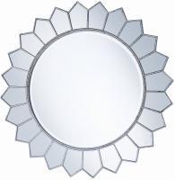 Carlyle Round Frameless Mirror