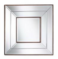 Clarence Frameless Square Mirror