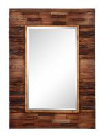 Blakely Natural Wood Rectangular Mirror